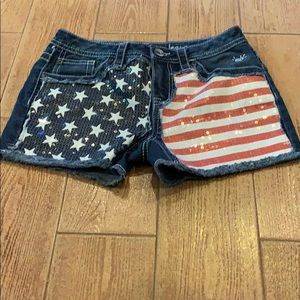 Justice Jean shorts.